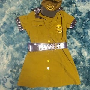 Border patrol halloween costume